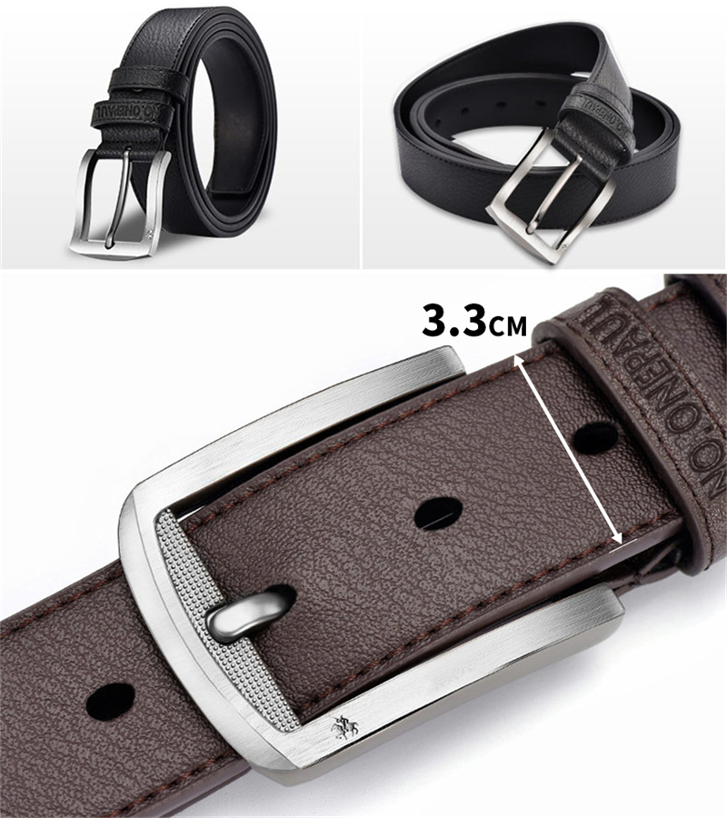 HTB1OAXaxzTpK1RjSZKPq6y3UpXan - NO.ONEPAUL buckle men belt High Quality cow genuine leather luxury strap male belts for men new fashion classice vintage pin