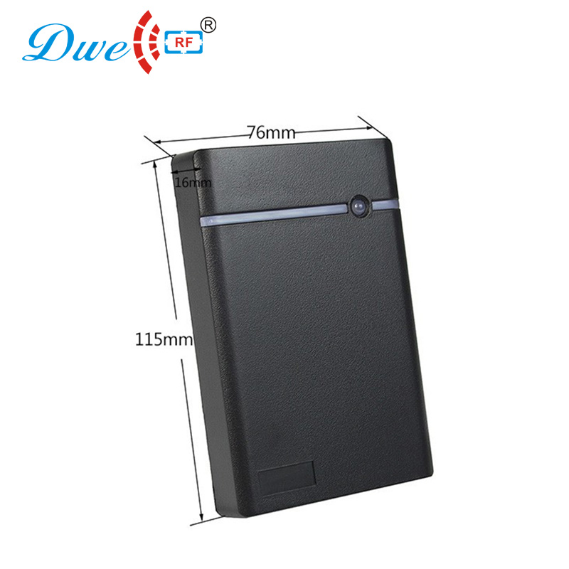 Image 5 - DWE CC RF access control card reader RS232 / RS485 door access IP 66 proximity card reader with black color-in Control Card Readers from Security & Protection