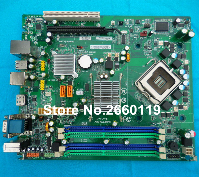 ФОТО Desktop motherboard for lenovo M81 INTEL Q65 IS6XM 03T8182 system mainboard fully tested working well