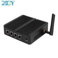 XCY Intel Celeron J1800 J1900 N2806 pare-feu routeur souple Mini PC Intel Gigabit Ethernet NIC 4xRJ45 WiFi USB HDMI VGA SIM Pfsense