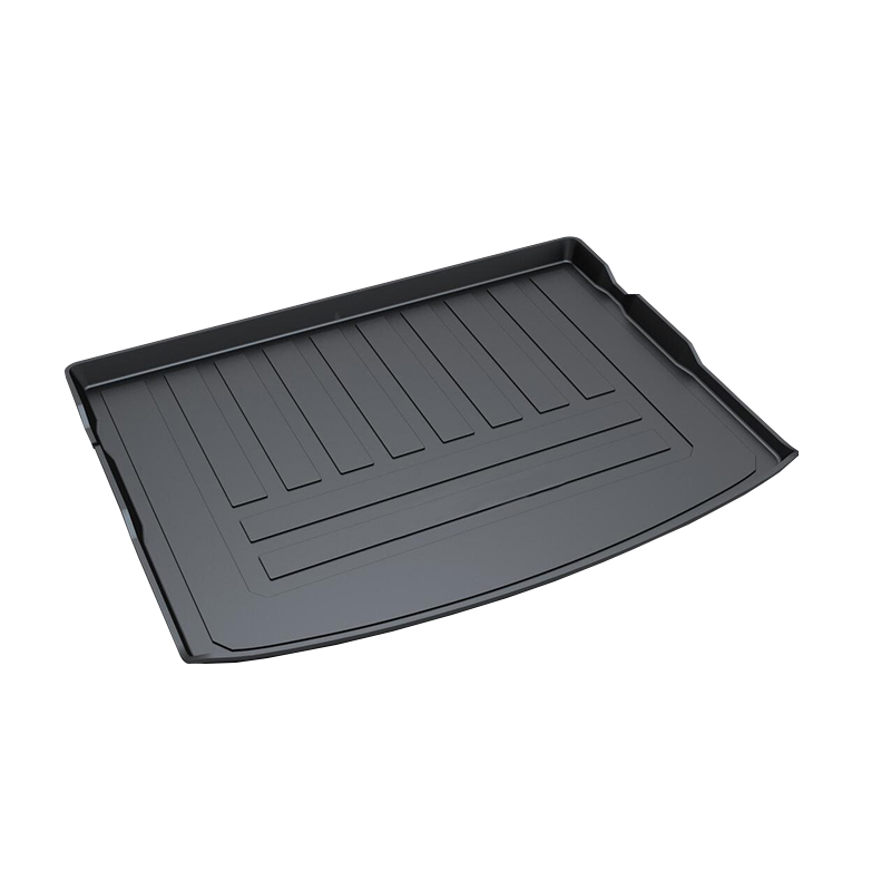 TPO Trunk Tray for Volvo V40,Premium Waterproof Pad car-styling products accessory for honda jazz trunk tray mat tpo waterproof anti slip car trunk carpet luggage cover black