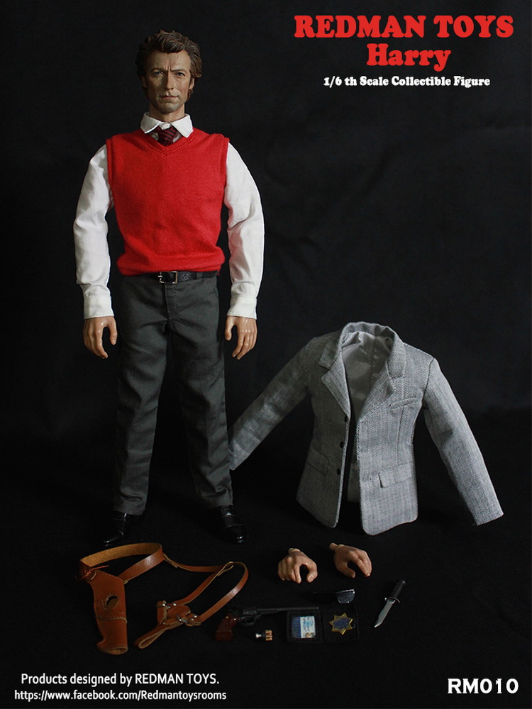 1/6 scale Collectible figure doll inspector harry Dirty Harry 1971 Super Flexible 12 action figure doll Plastic Model Toys psycho pass inspector shinya kogami volume 1