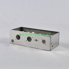 1 pc 기타 50 s 5f1 챔프 크롬 도금 섀시 diy 튜브 앰프 소켓