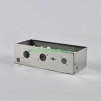 1pc guitarra 50 s 5f1 champ cromado chassis diy tubo amplificador soquete