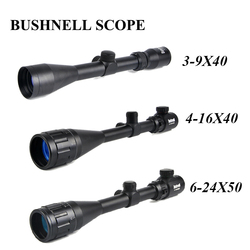 BUSHNELL 3-9x40 Hunting Scopes 4-16x40 Optics Rifle Scopes 6-24x50 Tactical Riflescope Sniper Scope Airsoft Air Guns