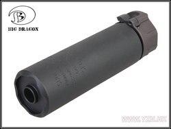 SOCOM 2 556 series MINI silencer 14mm counter clockwise
