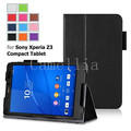 For Sony Xperia Z3 Tablet Compact Case - Slim Folding Cover Case for Xperia Z3 8 Inch Tablet Compact