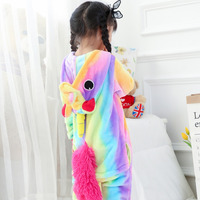 Kid Tenma Kigurumi Unicorn Costume Fancy Soft Anime Animal Cosplay Onepiece Child Boy Girl Baby Funny