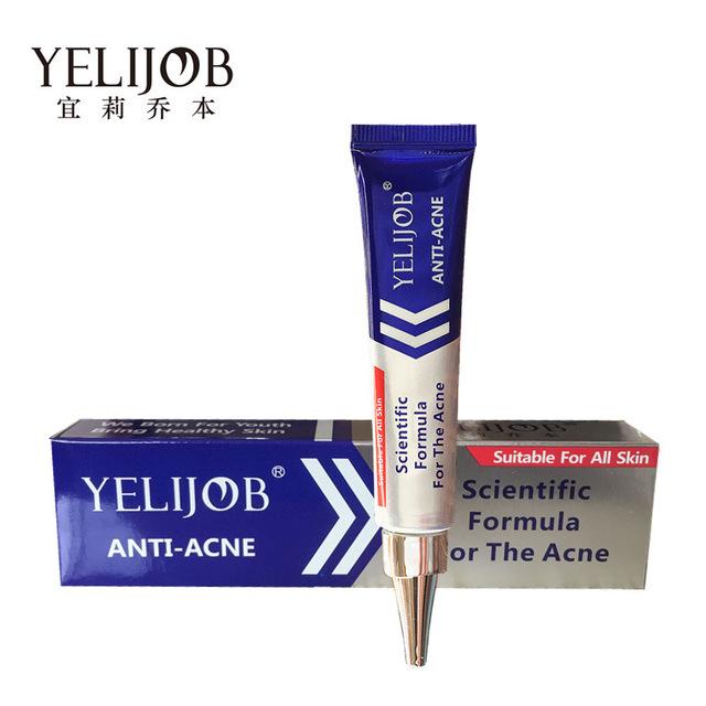 100% Tratamiento Eficaz Del Acné Crema de Belleza Para Blanquear Cuidado de La Piel Eliminar Espinillas Manchas Arrugas Pecas Cuidado de La Cara Crema Anti Acné