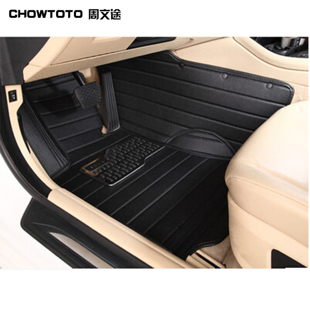 CHOWTOTO AA Special Floor Mats For Jeep Wrangler 2 Doors Durable Carpets  For Wrangler 2 Doors