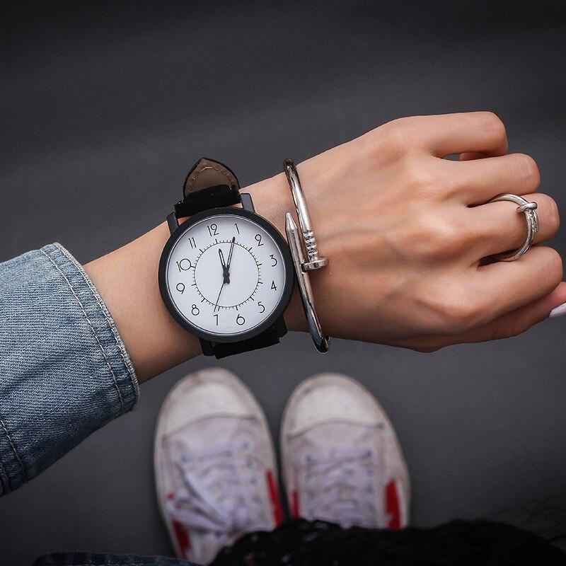 2019 gorąca sprzedaż JBRL Top marka moda zegarki na rękę dla pań dziewczyny kobiety zegarki kwarcowe zegarek Retro kobieta zegar duża tarcza nowy 5