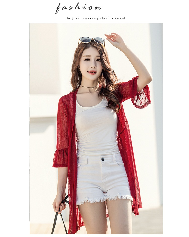 Considerate Fashion Women Summer Lace Tops And Blouses Mesh Vest Top Hollow Out Dames Female Blouse Ladies Tee Blusas Femininas Elegante Excellent Quality Women's Clothing