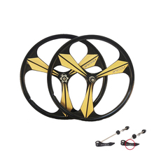 цена на bike Rim 3 spokes Cassette magnesium alloy wheels 700C Road bike Wheel bike rims mountain bike wheels