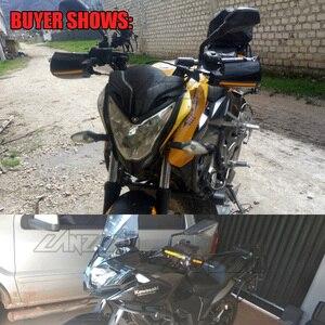 Image 5 - Motorcycle Hand Guards Motocross Brush Bar MX Dirt Bike Off Road Racing Protectors Universal for Kawasaki Honda KTM Yamaha