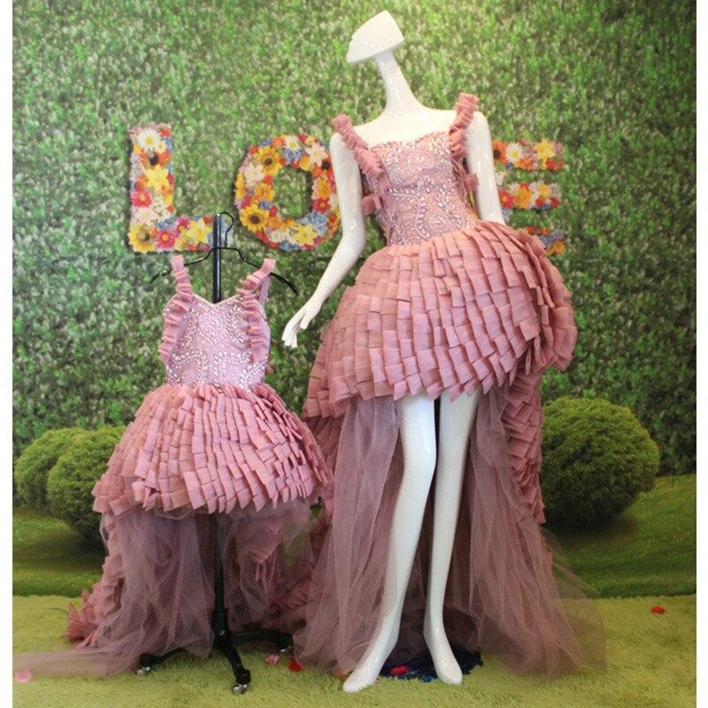 Aliexpress.com: Comprar Madre e Hija Vestidos A Juego RRE15 Elegante ...