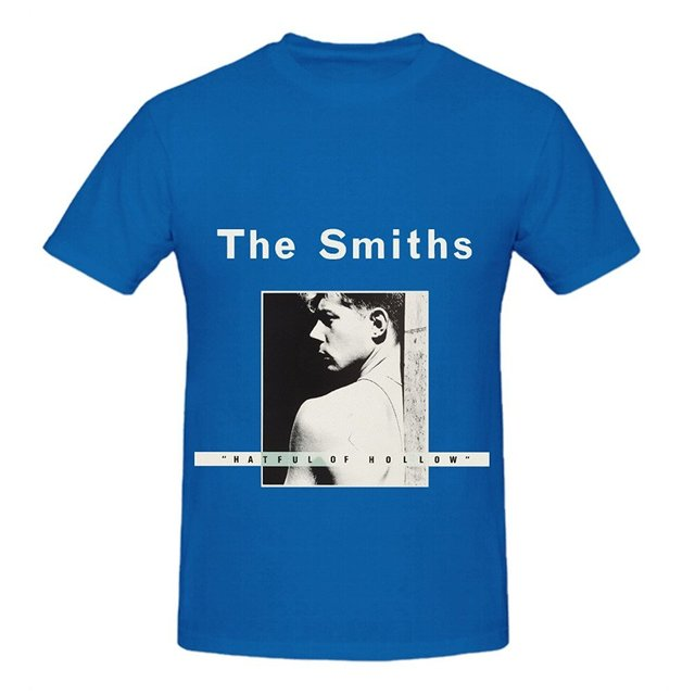 The Smiths Hatful Of Hollow 80s Album Cover Men Crew Neck Custom Shirts