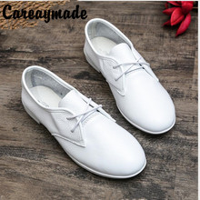 Hot selling,New 2015 Literary retro pure handmade shoes head layer cowhide buckles low shallow mouth documentary women shoes90-1
