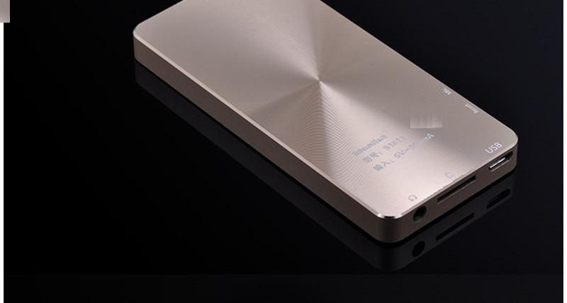 Brand Idealist Metal MP3 MP4 Player 4GB/8GB/16GB Video Sport MP4 Flash HIFI Slim MP4 Video Player Radio Recorder Walkman Speaker 7