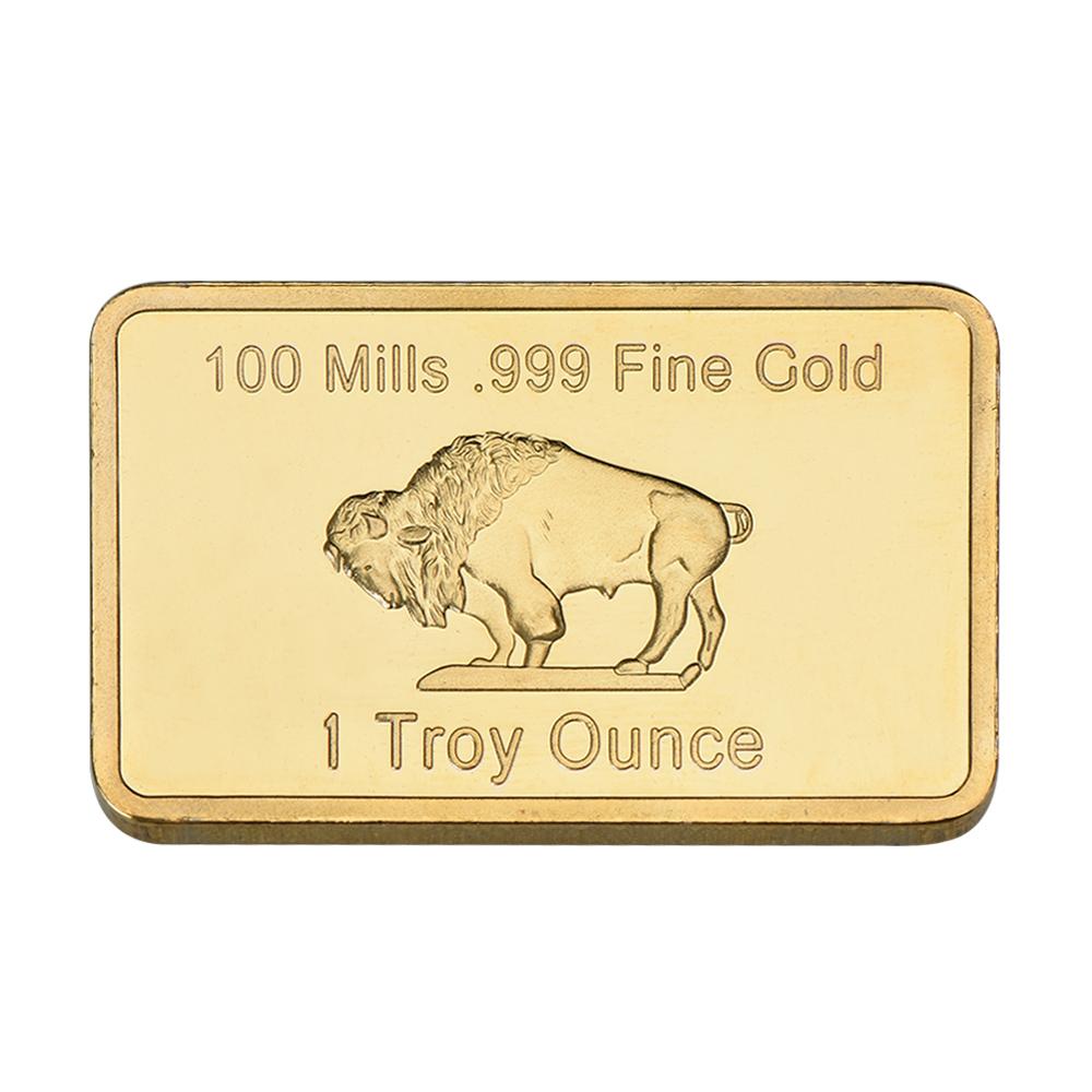 Bar 24k 999 9 Gold Plated