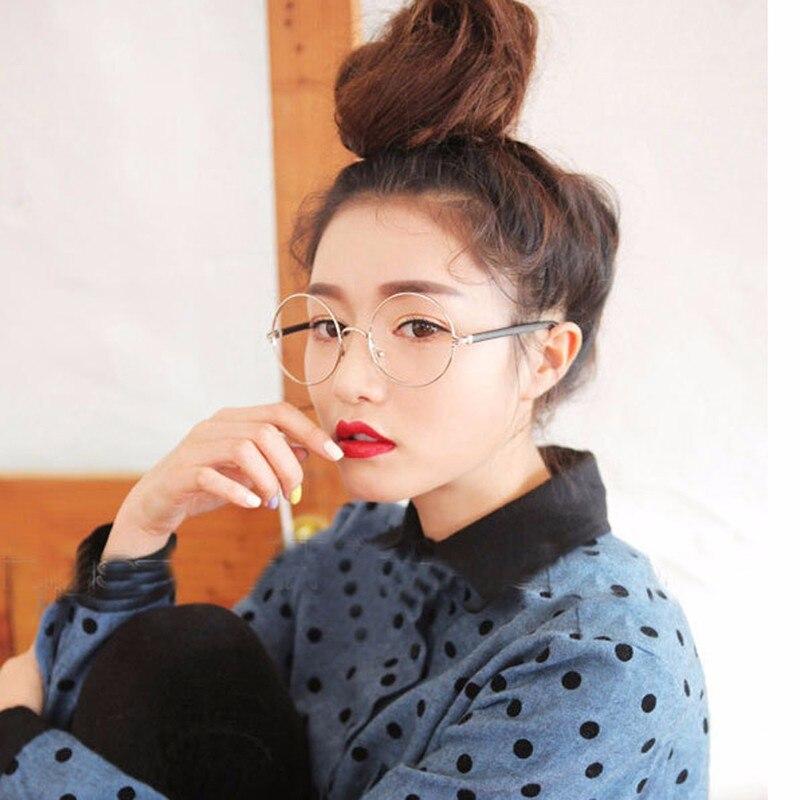 fe04452cd SALUTTO 2018 Estilo Clássico Retro Grande Rodada Óculos de Armação Mulheres  Óculos de Prescrição Oculos de Grau Feminino Gafas Mujer
