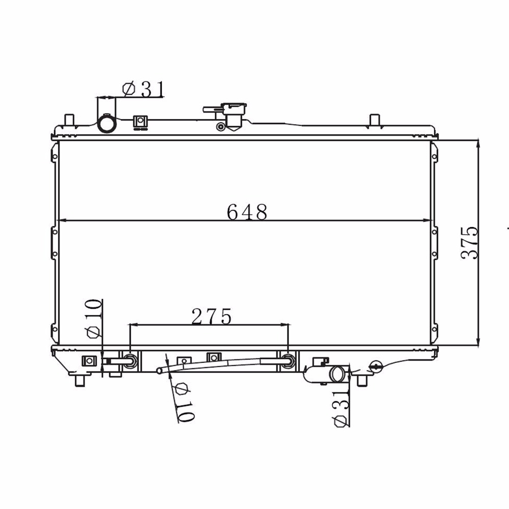 on 2001 kia sephia radiator fan wiring diagram