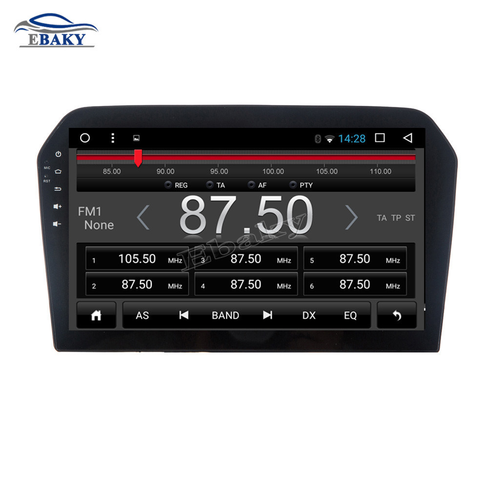 Cheap NaviTopia 9inch Octa Core Android 7.1 8.1 Car DVD GPS Navigation for VW JETTA 2013 2014 2015 2016 Auto Multimedia Radio Stereo 5