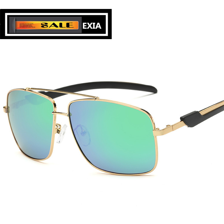 Men Sunglassses Polarized Single Vision Lenses Custom Prescription Power RX Brand EXIA O ...
