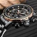 Reloj para hombre, reloj para hombre, reloj de cuarzo de lujo de marca LIGE, reloj deportivo militar resistente al agua para hombre