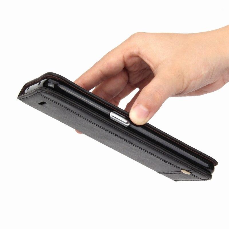 Lyxigt lädertelefonfodral för Samsung S10 S9 S8 Plus S10e - Reservdelar och tillbehör för mobiltelefoner - Foto 5