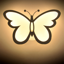 купить 12W/24W LED Pansy Acrylic Wall Lamp Modern Minimalist White/Warm White Bedroom Corridor Aisle Stair Light wall light arts по цене 1084.43 рублей