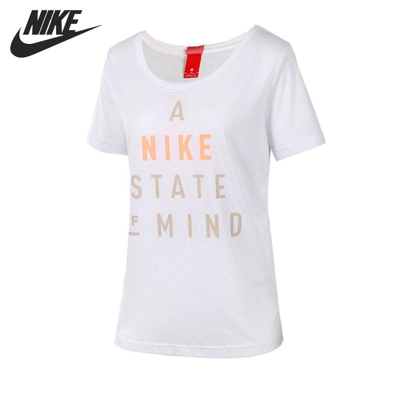 Original New Arrival 2017 NIKE  Women's T-shirts  shirt short sleeve Sportswear adidas original new arrival official originals s s camo color men s t shirts short sleeve sportswear cd1696