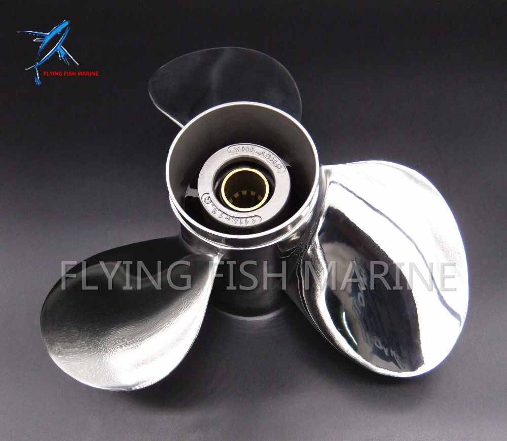 stainless steel propeller 11 1 8x13 g for yamaha 40hp 50hp