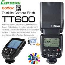 Godox TT600 GN60 HSS 1/8000 s Камера Вспышка Speedlite + 2.4 г Беспроводной x Системы XPro-c передатчик с подарок комплект для Canon