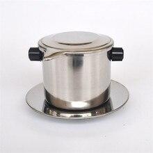 Портативный фильтр для заваривания ароматного кофе по-вьетнамски.