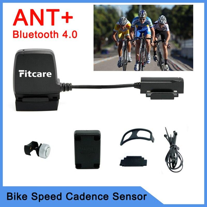 Цена за Ant + датчик велосипед компьютер спидометр скорости вращения педалей датчик Bluetooth LE смарт чехол фитнес для службы Wahoo фитнес MapMyRide