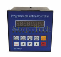 Free shipping CNC Stepper motor Controller Single axis Motion controller can programmable 12 24VDC
