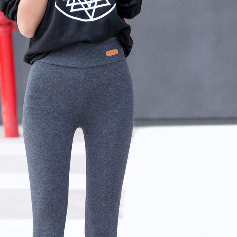 2017 winter Autumn Women's Leggings Thick Fitness legging High Waist Elastic Women Leggings pencil pants trousers Plus size