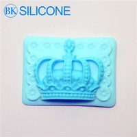 Arrival Crown Model Soap Silicone Mold Handmade Decorating Cake Cupcake DIY Fondant Mold AG019 BKSILICONE