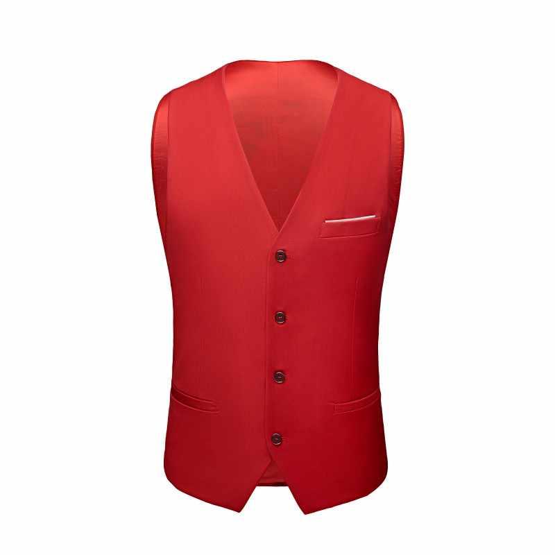 PEORCHID бордовый Для мужчин жилет 2019 серый/синий Best Man жилет Slim Fit Винтаж Для мужчин итальянский Повседневное свадебные жених жилет дешевые