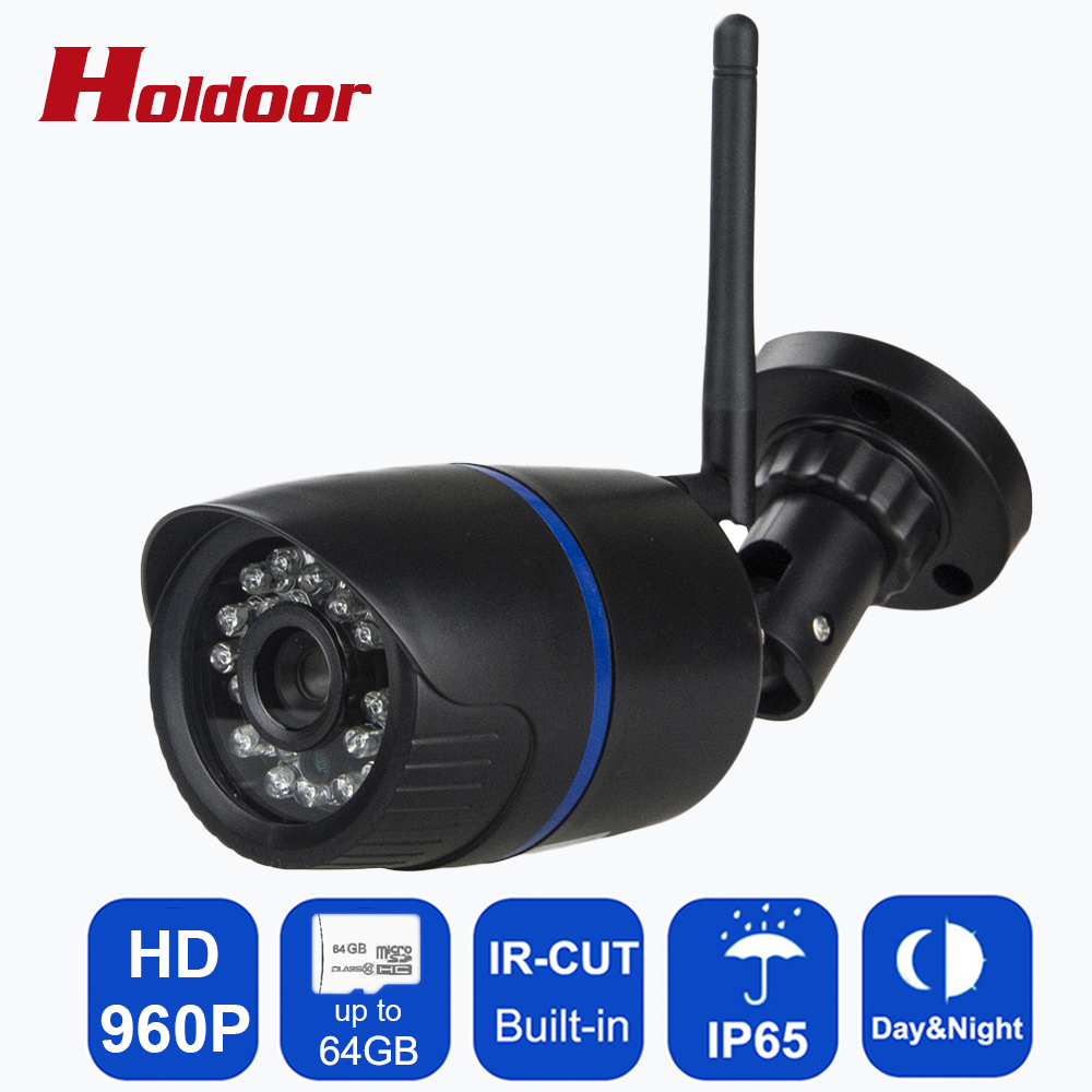 Video Surveillance Camera HD 960P  IP65 Waterproof Indoor Email Alert TF Card Slot video record email DIY Alarm System for House cctv ip camera wifi 960p hd 3 6mm lens video surveillance email alert onvif p2p waterproof outdoor motion detect alarm ir cut