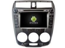 Android 7.1.1 2 GB coches reproductor de DVD para Honda ciudad 2008-2012 GPS Navi Radio Estéreo headunit multimedia cinta grabadora
