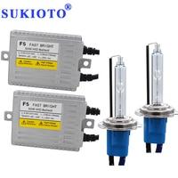 SUKIOTO Fast Bright F5 Ballast Kit Xenon H7 HID Kit Metal H1 H3 H11 Xenon White