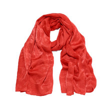 2019 Super Soft Silk Scarf Fashion Wedding Hijab Wrap Occasion XMas Shawl 180x90cm Long Retro Soild New