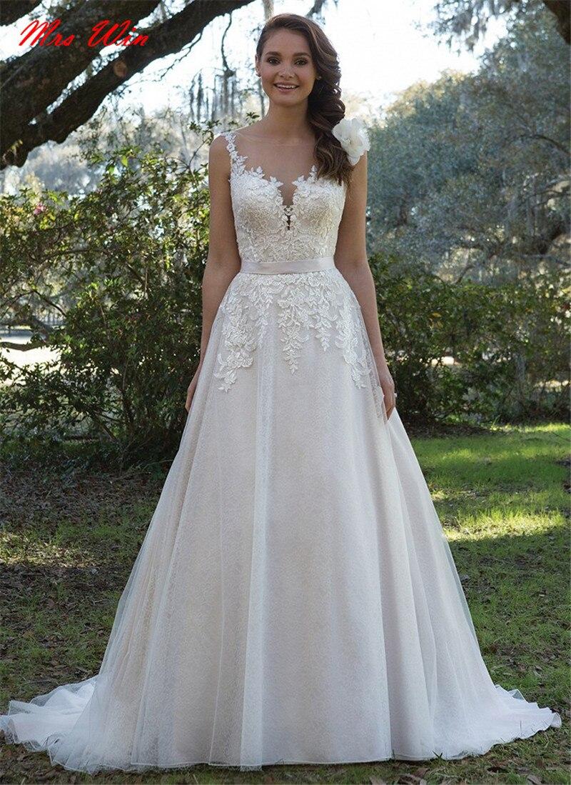 lace back wedding dress chantilly lace wedding dress Justin Alexander Fall Wedding Dresses