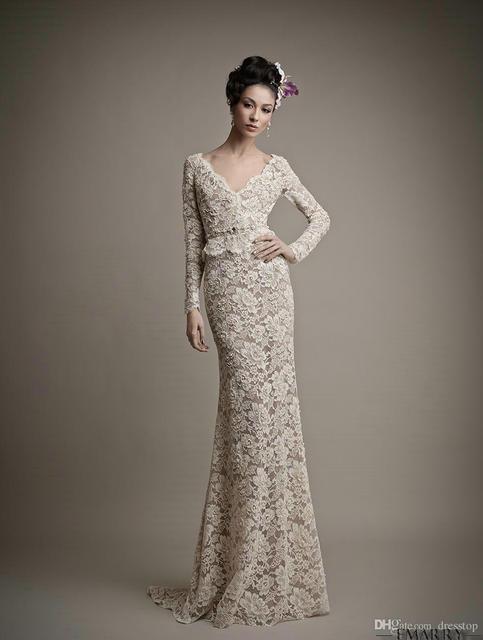 Sz179 Romantic Lace Mermaid Removable Organza Skirt Wedding Dresses