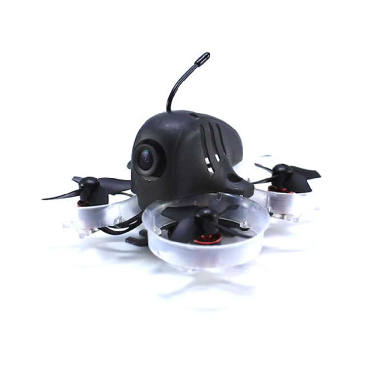 HB64 64mm 1S Brushless RC FPV Racing Drone BNF W/ F3 OSD 5A BLHeli_S Dshot 25mW 48CH 600TVL FS-RX2A Receiver Mini Multirotor jmt leader 120 120mm carbon fiber diy mini fpv racing quadcopter receiver drone camera osd f3 brushless bnf combo set