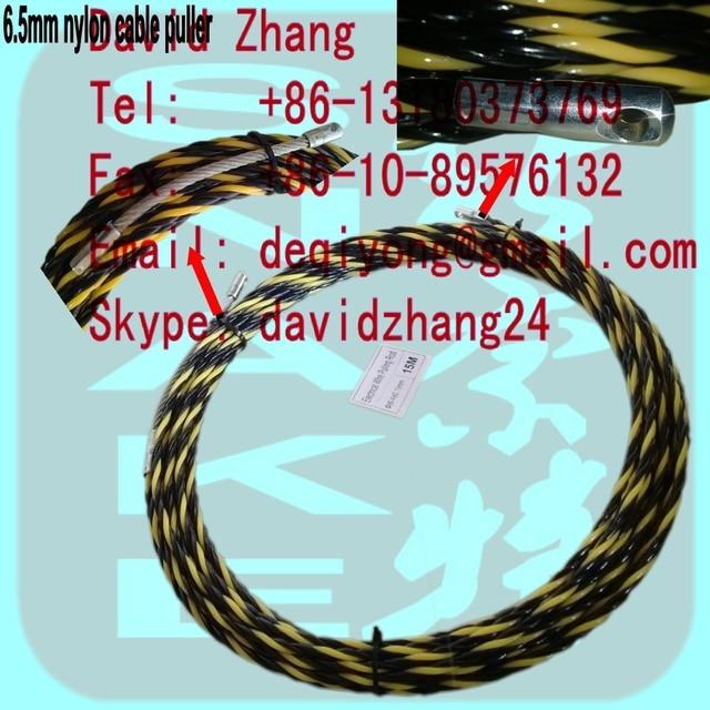 nylon kabel abzieher, einziehband, kanal rodder, schlange stange ...