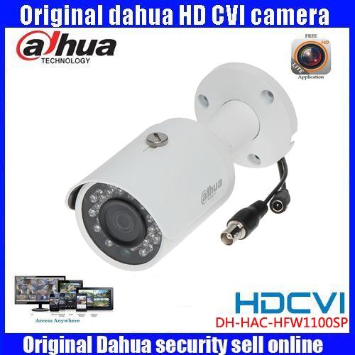 HD720p Dahua HDCVI Camera 1MP DHI-HAC-HFW1100S HDCVI IR Bullet Security Camera CCTV IR distance 30m HAC-HFW1100S dahua hcvr7208a s3 8ch h 264 1080p hdcvi dvr security system kit 8pcs dahua dh hac hfw1100s 960p ip67 ir hdcvi bullet camera