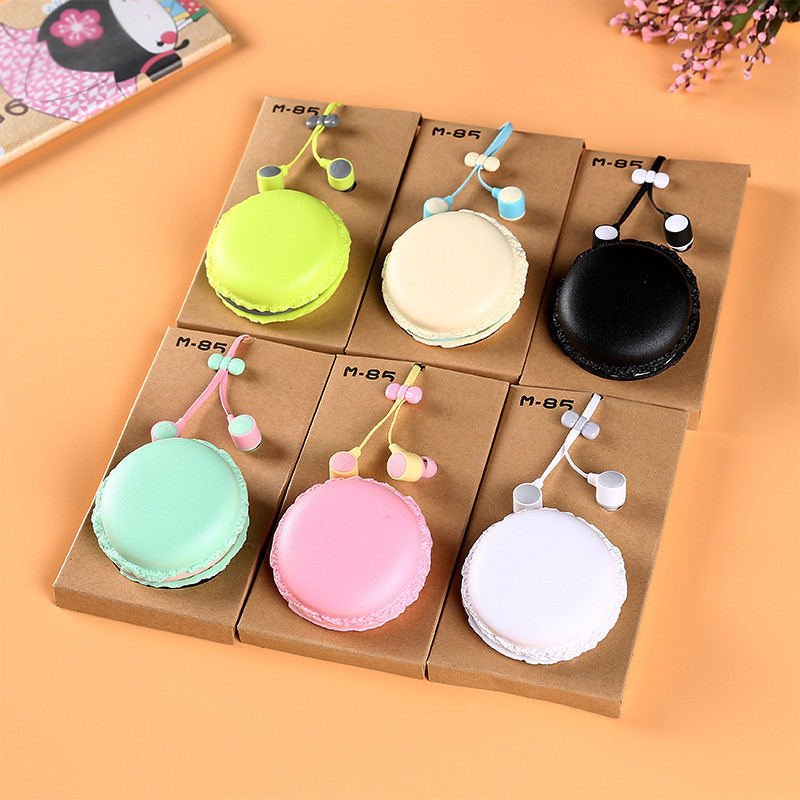 New Cake Cute Earphone in-ear Colorful Girl Earphone Universal for iPhone Xiaomi Samsung Lenovo Nokia for Mp3 Gfit рубашки