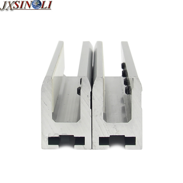 High Strength Aluminum Alloy Automatic Sliding Glass Door Leaf Hanging Clamps Hang Bracket 2pcs Set In Access Control Accessories From Security